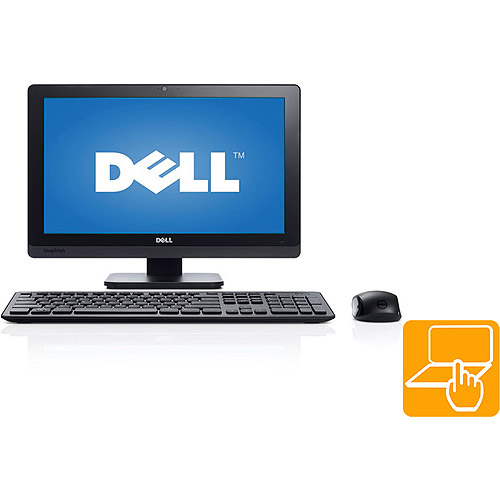 "Dell Black Inspiron One 2020 All-in-One Desktop PC with Intel Pentium G2020T Processor, 4GB Memory, 20"" Touchscreen Display, 1TB Hard Drive and Windows 8 Operating System"