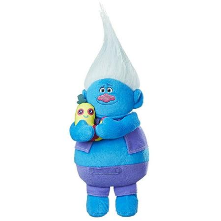 DreamWorks Trolls Biggie Hug N Plush Doll