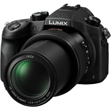 - Panasonic Lumix DMC-FZ1000 4K QFHD Wi-Fi Digital Camera