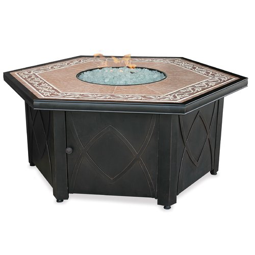 Uniflame Corporation Steel Propane Fire Pit Table