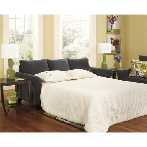 Incroyable Signature Design By Ashley Nolana Charcoal Queen Sleeper Sofa