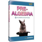 Standard Deviants: Pre-Algebra Module 5 Algebra Equations by