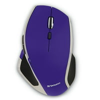 Wireless Mouse Wireless, Purple 8-button Gaming Portable Led Usb Wireless Mouse