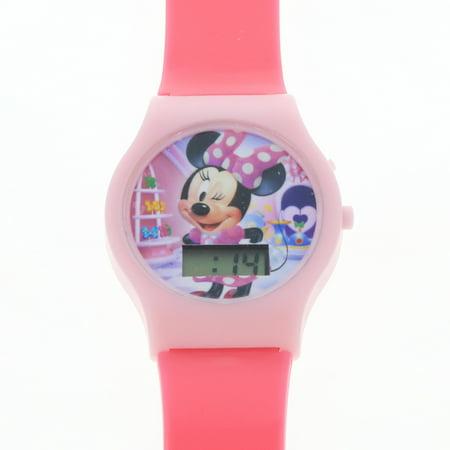 KidPlay Kids LCD Wrist Watch Digital Style Adjustable Strap (Many Characters)