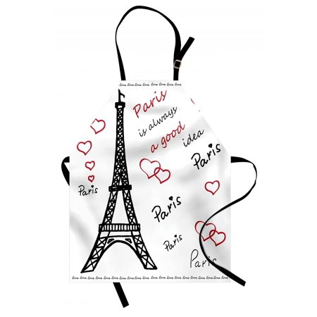 Red And White Wedding Ideas (Eiffel Tower Apron Eiffel Tower