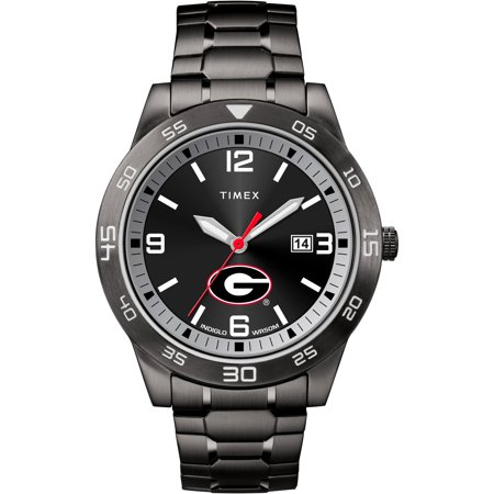 Georgia Bulldogs UGA Men's Black Acclaim Watch (Georgia Bulldogs Mens Watch)