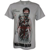 The Walking Dead: Walking Target Mens T-Shirt | 2XL