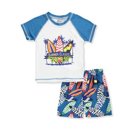 Sweet & Soft Baby Boys' 2-Piece Swim Set - Sweet Boy Tube