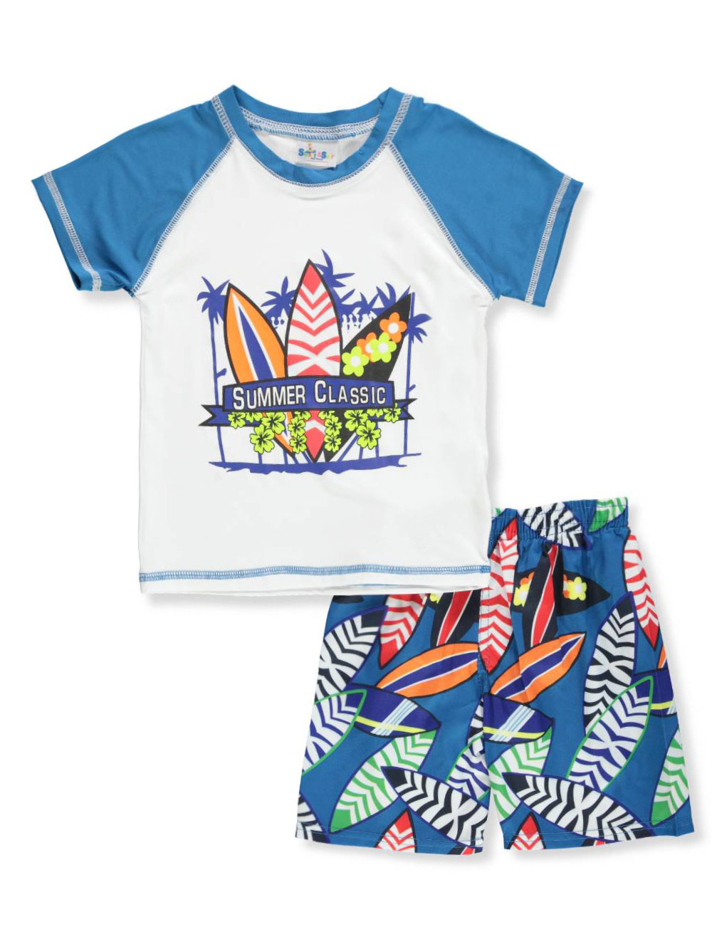 Sweet & Soft Baby Boys' 2-Piece Swim Set