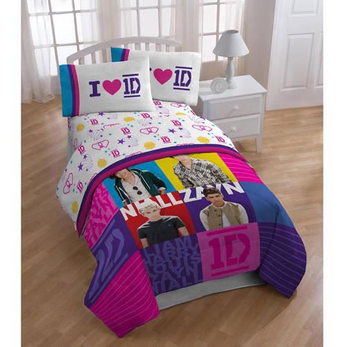 One Direction Twin Cotton Rich Sheet Set