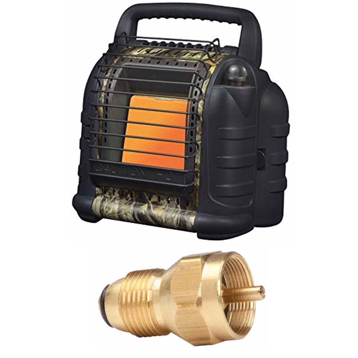 Mr. Heater Hunting Buddy Portable Heater w/ Propane Tank Refill Adapter