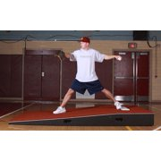 ProMounds 5' Wide ProModel Practice Pitching Mound with Spike Resistant Turf (Clay)