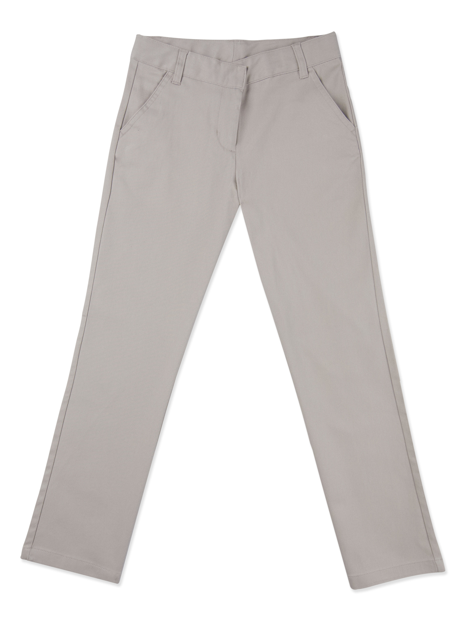 Girls' PLUS School Uniforms, Flat Front Pant
