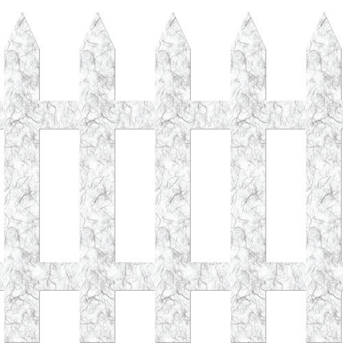 My Wonderful Walls Picket Fence Wall Decal