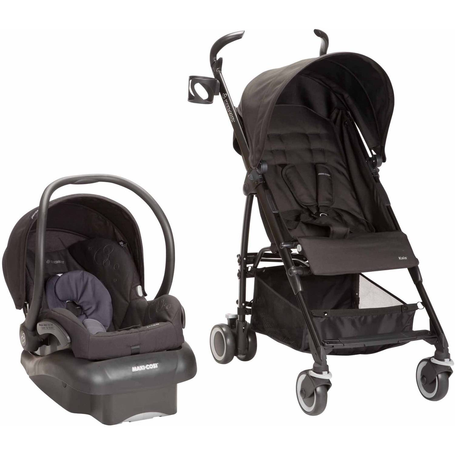 Maxi Cosi Kaia/Mico Nxt 3-in-1 Travel System, Total Black