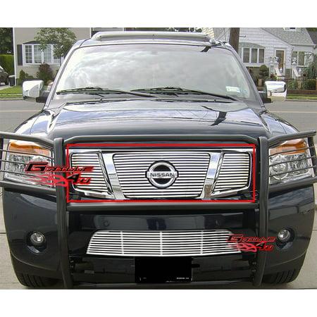 (Fits 2008-2015 Nissan Armada Perimeter Grille Insert #N96507R)