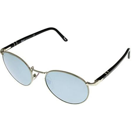 86a1c548ea Persol - Persol Sunglasses Unisex Round Silver Black Mirrored Lens PO2388S  103930 Size  Lens  Bridge  Temple  51 22 145 - Walmart.com