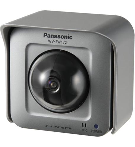 Panasonic I-pro Smarthd Wv-sw172 1.3 Megapixel Network Camera - Color, Monochrome - 800 X 600 - Mos - Cable - Fast Ethernet (wv-sw172_13)