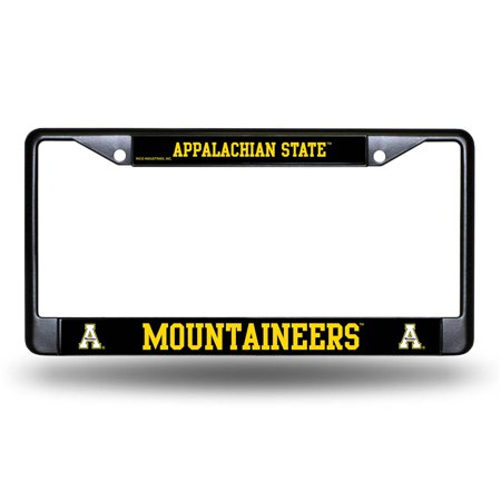 Appalachian State Black Chrome License Plate ()