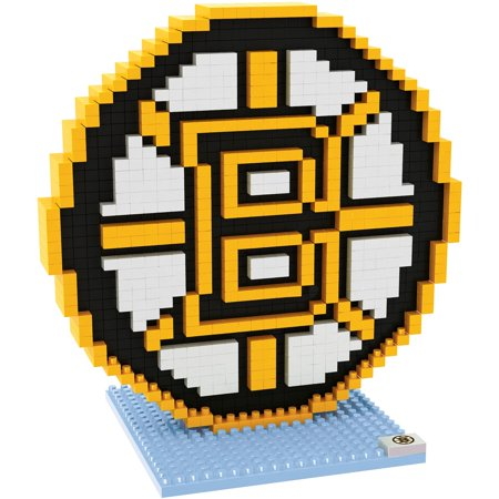 024ac774 Boston Bruins NHL 3D Logo BRXLZ Puzzle - Forever Collectibles ...