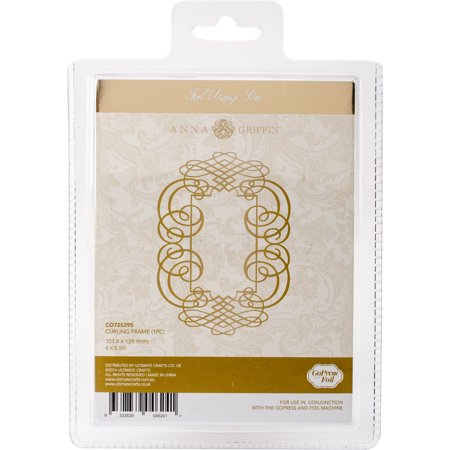 Couture Creations Anna Griffin Hotfoil Stamp-Curling Frame Anna Griffin Die Cut