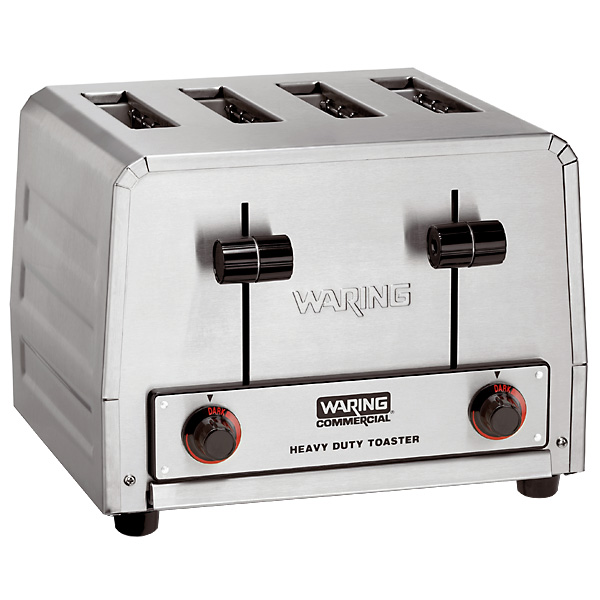 WARING-COMMERCIAL 4-Slice Toaster - Heavy-Duty