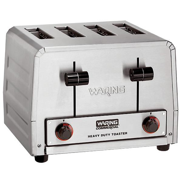 Waring 4-Slice Toaster - Heavy-Duty - 240 Volts