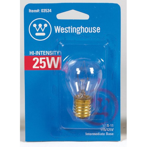 Westinghouse Lighting 25W E17 Dimmable Incandescent Edison Globe Light Bulb