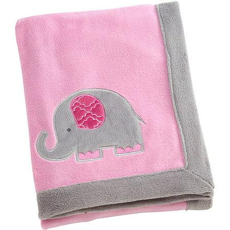 Elephant Time Pink Coral Blanket Walmart Com