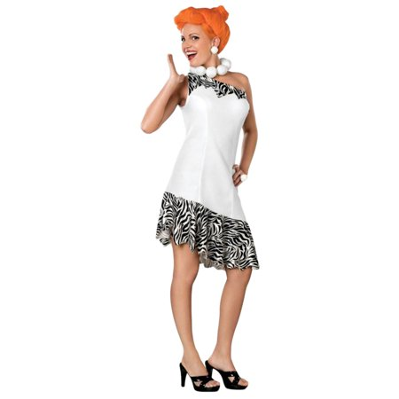 Morris Costumes Womens Wilma Adult Medium Halloween Costume](Wilma Rubble)