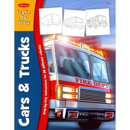 Learn to Draw Cars & Trucks: Learn to Draw and Color 28 Different Vehicles, Step by Easy Step, Shape by Simple Shape!