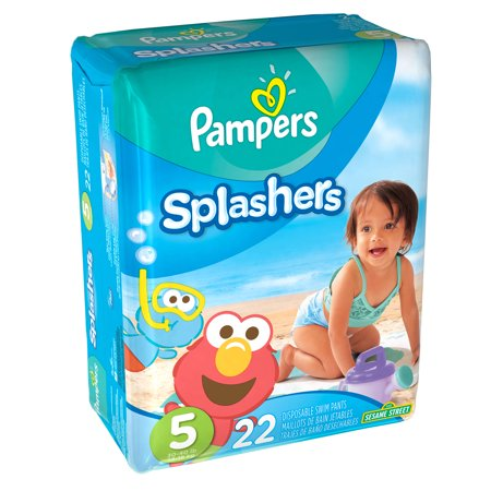 Pampers Splashers Disposable Swim Pants Stage 5, 22 count