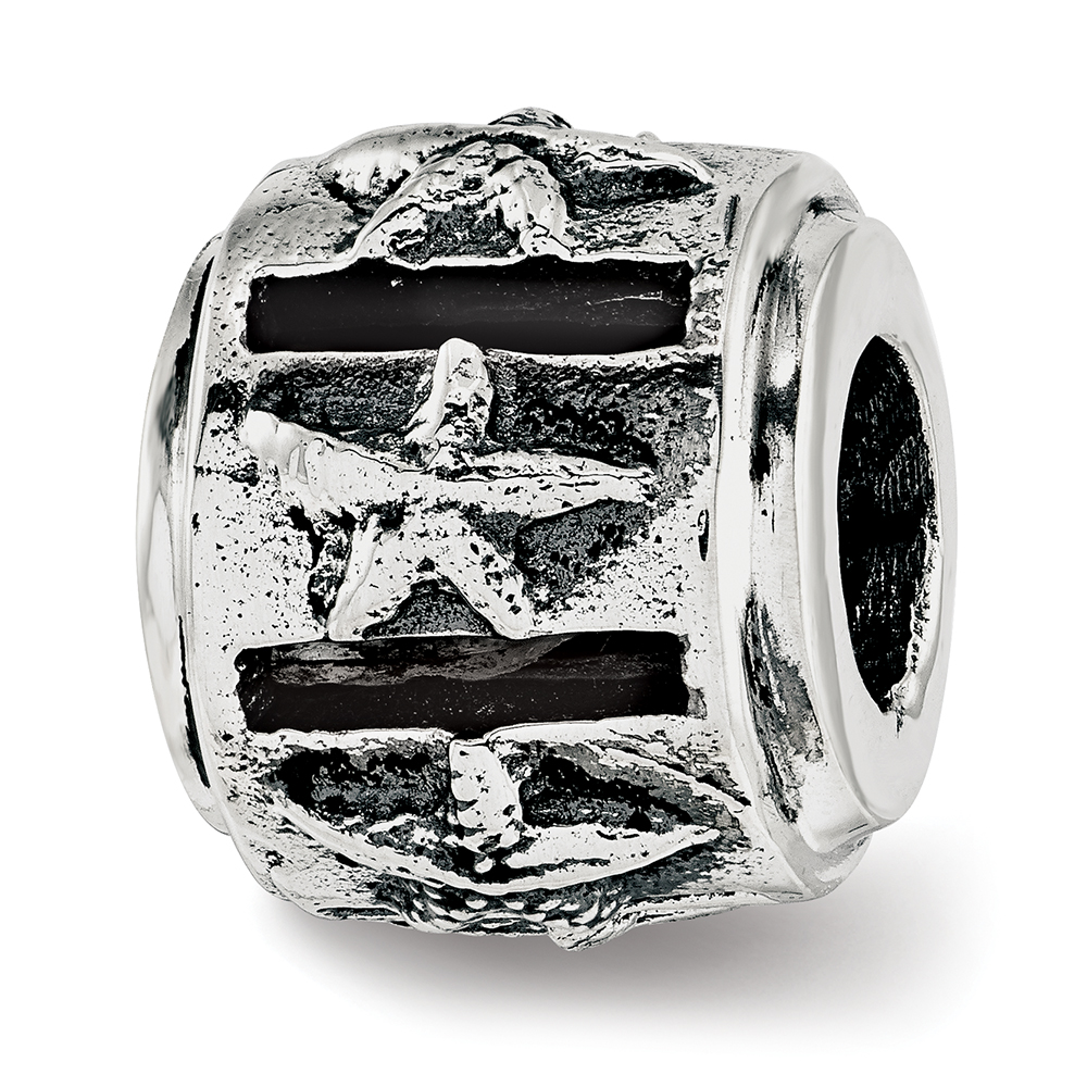 Sterling Silver Reflection Starfish Bead MSRP $88