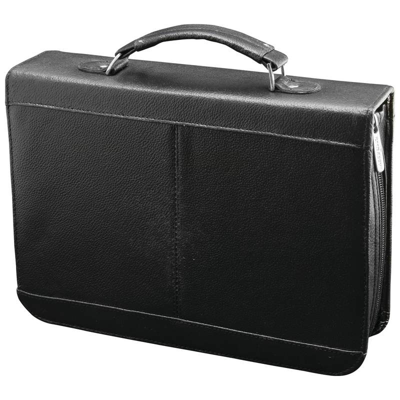 Embassy™ Solid Genuine Cowhide Leather Travel Electronics Case