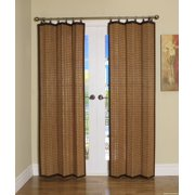 Versailles' Bamboo Wood Curtain Ring Top Panel (40in x 84in)