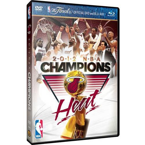 2012 NBA Championship (Blu-ray + DVD)
