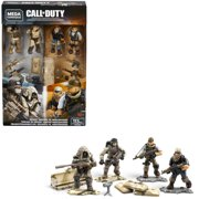 Mega Construx Call of Duty Desert Snipers vs. Mercenaries Construction Set with character figures, Building Toys for Collectors (113 Pieces)