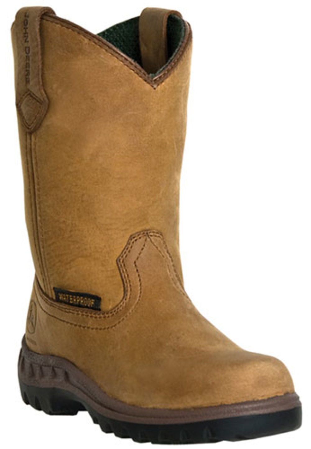 John Deere Kid's Boots Coffee 5 M by John Deere