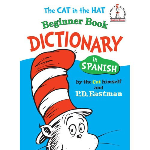 Cat in the Hat Beginner Book Dictionary in Spanish