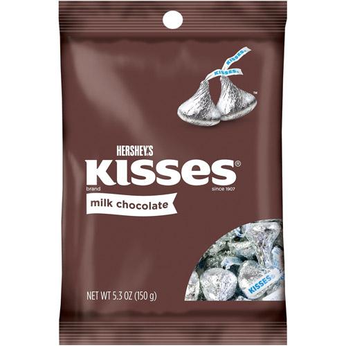 Hershey's Kisses Milk Chocolate, 5.3 oz by Hershey