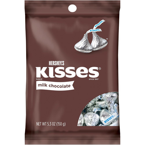 Kisses Milk Chocolate Candy, 5.3 oz