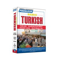 Pimsleur Turkish Basic Course - Level 1 Lessons 1-10 CD : Learn to Speak and Understand Turkish with Pimsleur Language Programs