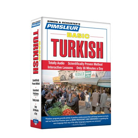 Pimsleur Turkish Basic Course - Level 1 Lessons 1-10 CD : Learn to Speak and Understand Turkish with Pimsleur Language