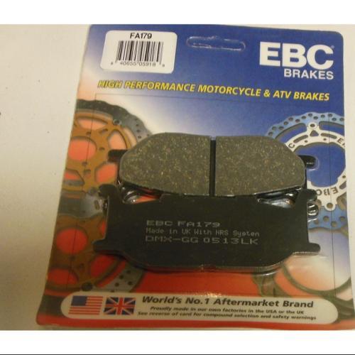 EBC Organic Brake Pads Front Fits 95-99 Yamaha Virago 535 XV535