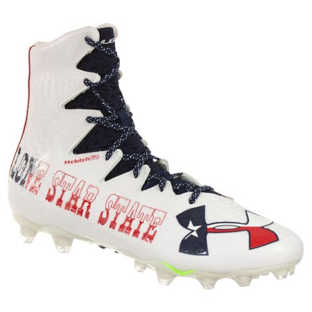 4e166af55d4 Under Armour - UNDER ARMOUR MEN S FOOTBALL CLEATS HIGHLIGHT MC LE RED WHITE  BLUE LONESTAR STATE 13.5 M - Walmart.com