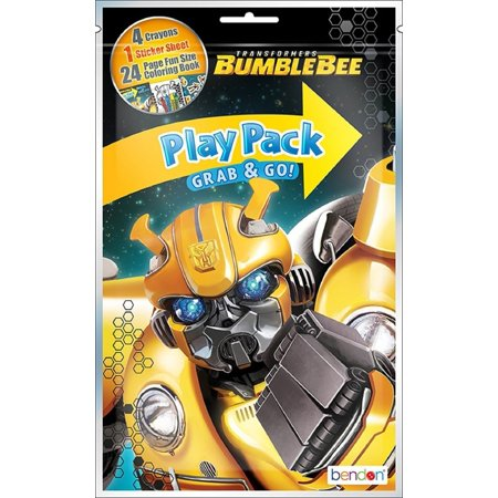 Transformers Bumblebee Grab and Go Play Pack Party - Play Pack Grab And Go