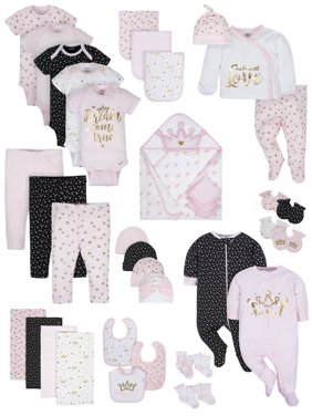 5f45f1f05 Free shipping on orders over $35. Free pickup. Product Image Gerber Organic  Cotton Baby Shower Layette Gift Set, 39pc (Baby Girls)