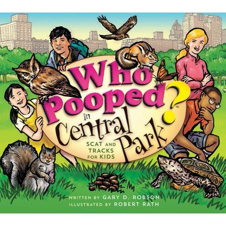 Who Pooped in Central Park? : Scat and Tracks for Kids - Central Park For Halloween