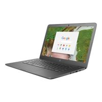 "HP Chromebook 14-ca061dx - Celeron N3350 / 1.1 GHz - Chrome OS - 4 GB RAM - 32 GB eMMC - 14"" touchscreen 1366 x 768 (HD) - HD Graphics 500 - 802.11ac - HP Imprint finish in charcoal gray - kbd: US"