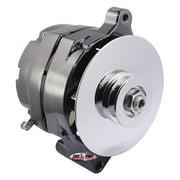 TUFF-STUFF 7068RD7 Alternators/Generators and Components Ford 100Amp Alternator 1 Wire V-Groove Black